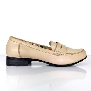 Hotter Sorbet Blush Leather Loafers